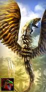 Quetzalcoatl Skin - Gato Quetzalcoatl