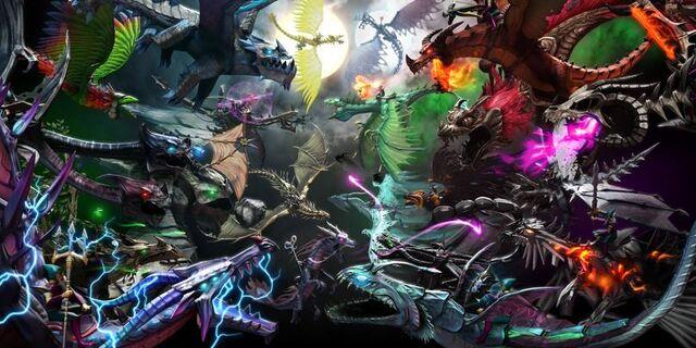 File:Dragons and titans wallpaper.jpg