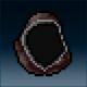 Sprite armor cloth charred head