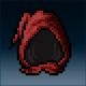 Sprite armor cloth mooncloth head