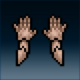 Sprite armor plate hardened hands