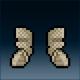 Sprite armor chain reinforced feet