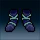 Sprite armor cloth deep feet