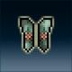 Sprite armor chain hammered legs