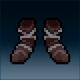 Sprite armor cloth charred feet