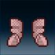 Sprite armor chain crimson feet