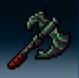 Emerald Bone Cleaver
