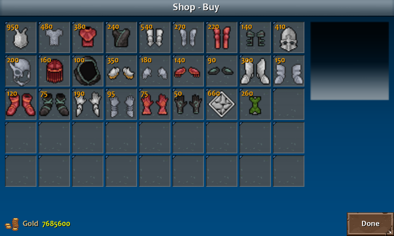 Shop 3 kera armor