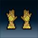 Sprite armor leather sunbeam hands