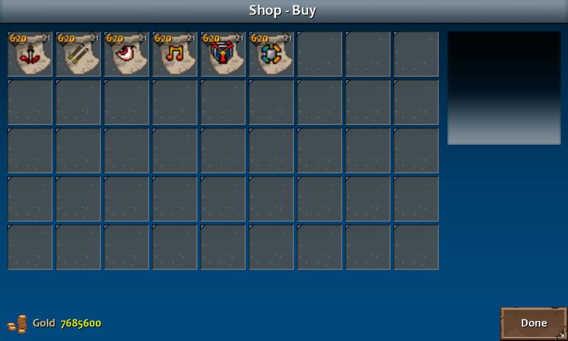 Shop 4 shadow skills