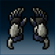 Sprite armor plate dwarven hands