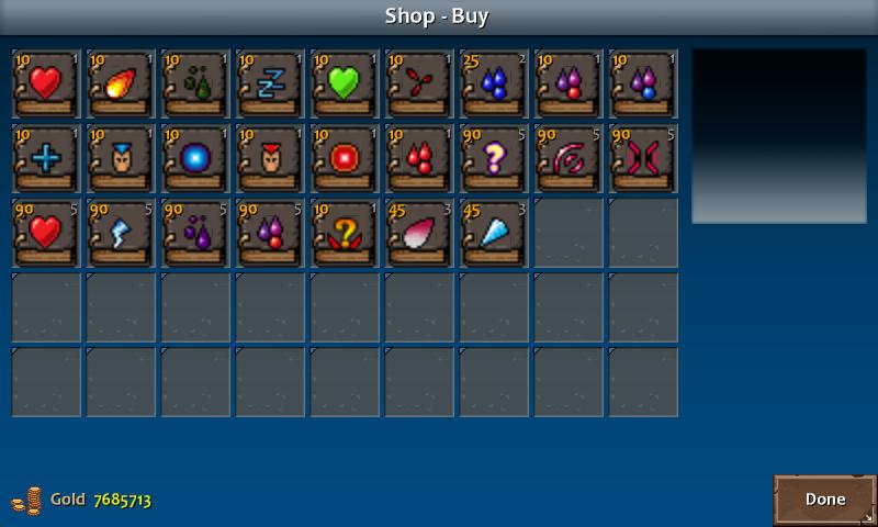 Shop 1 flint spells