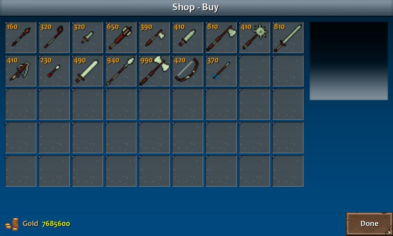 Shop 3 kera weapons