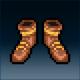 Sprite armor leather old feet