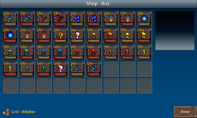 Shop 3 kera spells enc