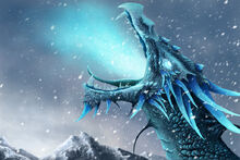 Ice dragon winter call by winterkeep-d5xbpic