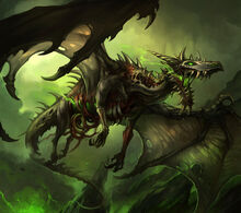 Zombie dragon by sandara-d4kf3bn