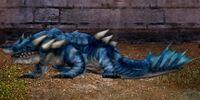 Indigo Wavecrasher Dragon