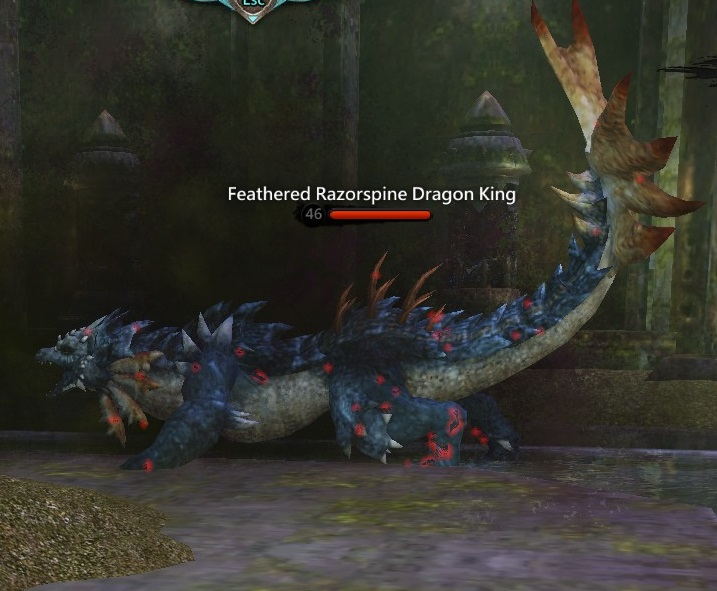 Feathered Razorspine Dragon King 2