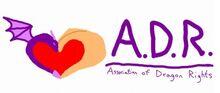 ADR logo rough