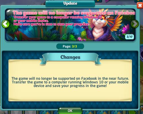 FacebookUnsupported