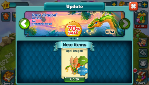 Opal Dragon Update