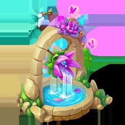 Magical Fairy FountainDecor