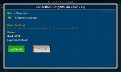 Collection-Gargantuan Chunk