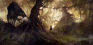 Exclusive--the-big-bad-wolf-d-fantasy-forest-kid-wolf-child-picture-image