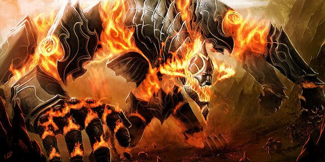 File:Idaboth fire elemental coloss by athayar-d3iimhy.jpg