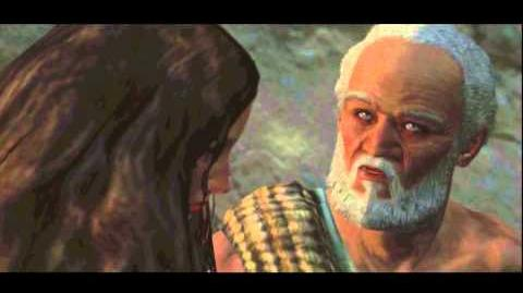 Dragon's Dogma - Newly Arisen Chief Adaro & Quina Discus Arisen in Cassardis Cutscene Gameplay PS3