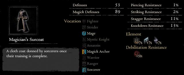 Dragonforged Magician's Surcoat