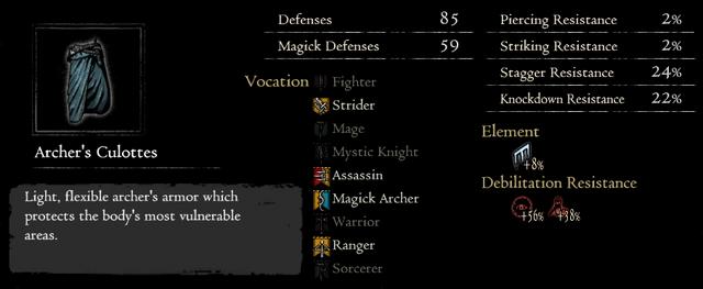 Dragonforged Archer's Culottes