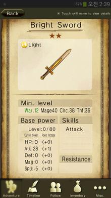 Bright Sword