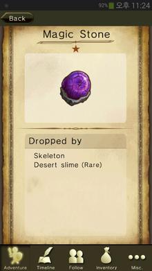 Magic Stone