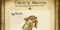 Cleric's Mantle