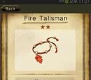 Fire Talisman