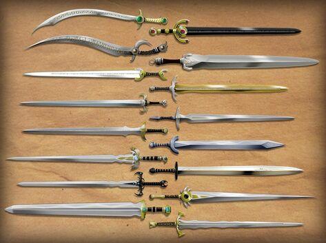 Sword trove of lynariel by taghuso-d3ae60z