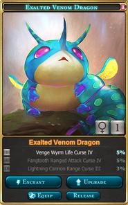 Exalted Venom Baby Dragon(Venom Tournament 1st-2nd)