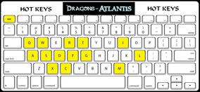 DoA Hot Keys Keyboard