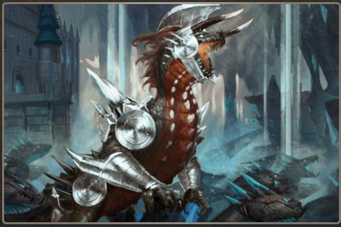 Respendent Scales + Iron Ore Armor