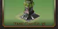Defensive Tower: Venom Trap