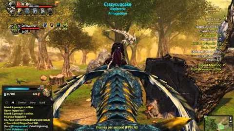 Dragon's Prophet Cobalt Lightning -Wild Tame-