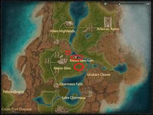 Location Screaming Raptor Dragon Bakra