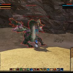 Fight with Whispering Wind(my tame:D)