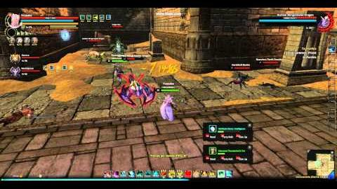 Dragon's Prophet Indigo Flare Spawn in Ash Catacombs