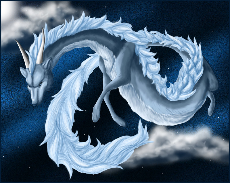 A Moonlit Dragon by Kumlay