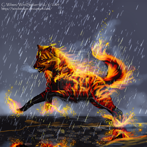 File:Wolf of Fire Shayateen by WindSeeker.png