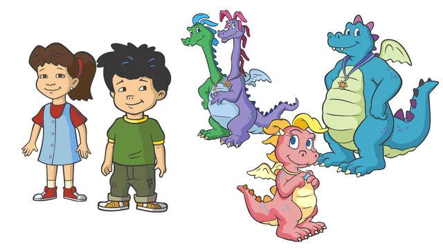 File:Dragon Tales-wallpaper.jpg