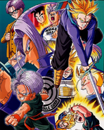 Trunks Lithograph